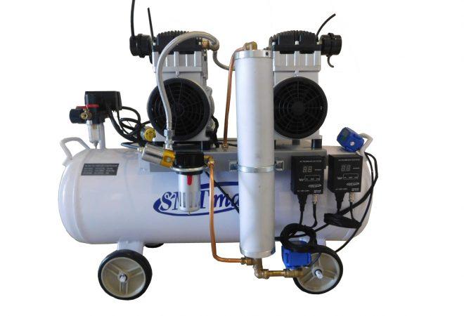 Con secador automático y drenaje automático del tanque